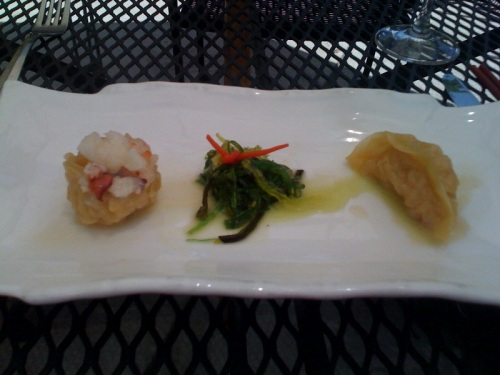 Lobster Appetizer at Uncle Yu's at the Vineyard