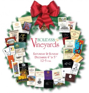 Holiday in the Vineyards Logo