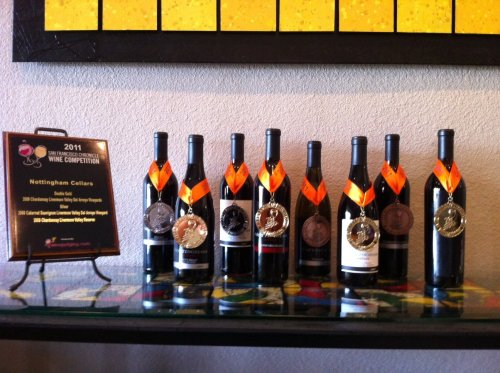 Nottingham Cellars is quickly making a name for itself with numerous awards at major wine competitions.